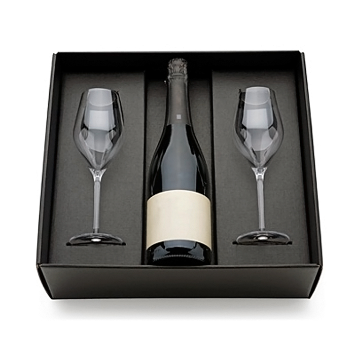 Molto Packagings - scatola vuota per confezione regalo porta flute  MT42