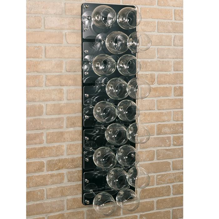 Accessori porta calici da muro in plexiglass linea plexi - Porta calici ikea ...