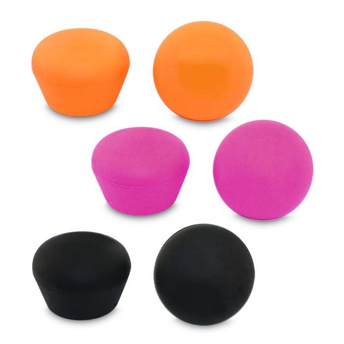 Accessori set da 2 tappi in silicone per vini mossi for Tappi orecchie silicone per dormire