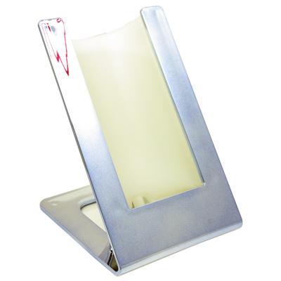 Accessori stand refrigerante contatto metal blu for Arredo stand