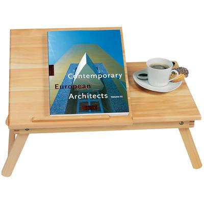 Accessori tavolino vassoio da letto con semipiano - Leggio da letto per libri ...