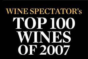 Wine Spectator's: TOP 100 WINES OF 2007