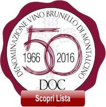 Brunello di Montalcino 1966-2016 - 50 anni di storia