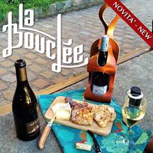 La Bouclee - Portabottiglie in Cuoio