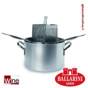 ballarini-caseruola-cuocipasta-alto-in-alluminio-con-3-spicchi-spessore-3-mm-diametro-360-mm-capacita-21-lt