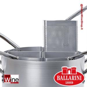 ballarini-caseruola-cuocipasta-alto-in-alluminio-con-4-spicchi-spessore-3-mm-diametro-400-mm-capacita-30-lt