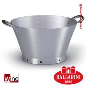 ballarini-colapasta-conico-in-alluminio-con-base-due-maniglie-diametro-500-mm