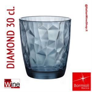 bormioli-rocco-bicchiere-acqua-tumbler-diamond-30-blu-oceano-capacita-30-cl-conf-6-pz