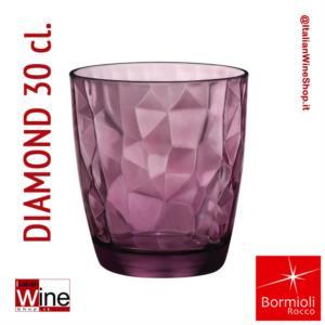 bormioli-rocco-bicchiere-acqua-tumbler-diamond-30-purple-viola-capacita-30-cl-conf-6-pz