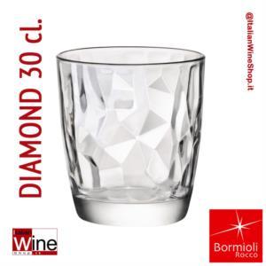 bormioli-rocco-bicchiere-acqua-tumbler-diamond-30-trasparente-capacita-30-cl-conf-6-pz