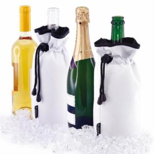 Borsa Refrigerante per Champagne/Spumante - CHAMPAGNE COOLER BAG - Colore BORDEAUX - By Pulltex®_bis