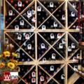 Collarini di Identificazione in Cartoncino -  WINE CELLAR TAG  AZZURRO - Set 50 pz. - by Euposia_bis_bis