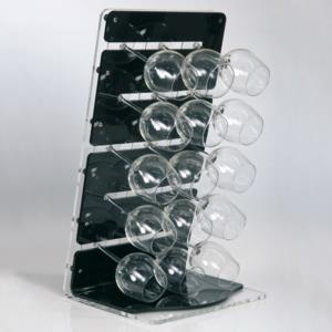 Accessori Porta Calici Da Appoggio In Plexiglass Linea
