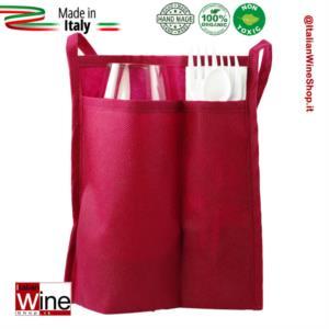 sacchetta-doppia-tasca-porta-calice-kit-posate-modello-tnt-gusto-range-3-bordeaux-dvm