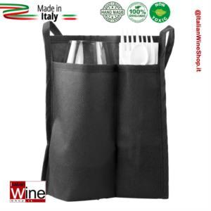 sacchetta-doppia-tasca-porta-calice-kit-posate-modello-tnt-gusto-range-3-nero-dvm