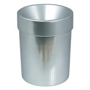 spittoon-in-plastica-cone-10-silver-10-lt-by-dvm
