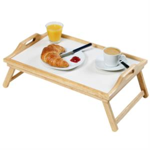 Accessori tavolino vassoio da letto mod klar by kesper - Vassoio colazione letto ...