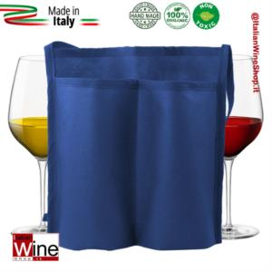 tracolla-doppia-tasca-portacalici-in-tessuto-non-tessuto-modello-tnt-duo-range-3-blu-dvm