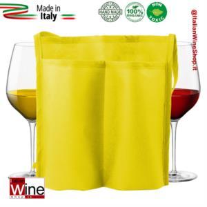 tracolla-doppia-tasca-portacalici-in-tessuto-non-tessuto-modello-tnt-duo-range-3-giallo-dvm