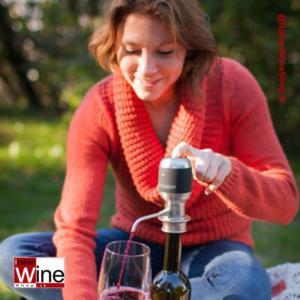 Vinaera - Dispenser Aeratore Ossigenatore Elettrico per Vino & Distillati _bis