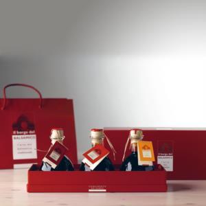 confezione-regalo-scatola-mista-condimenti-da-25-cl-tris-de-il-borgo-del-balsamico