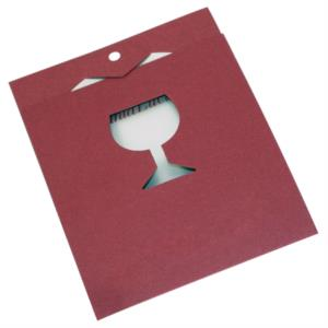 Card augurale + Salvagoccia - Drop a Card® SMALL ''1'' - By SCHUR®