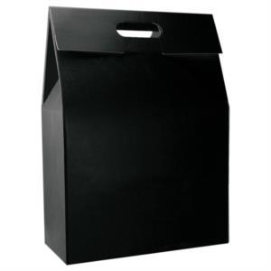 Scatola Regalo Nera con manico per accessori - By DiVino marketing®