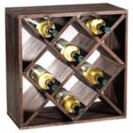 Rack Portabottiglie - Sistema Modulare CUBOX® 50 - Mod. Dunkel 20 - By KESPER®