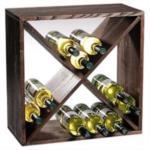 Rack Portabottiglie - Sistema Modulare CUBOX® 50 - Mod. Dunkel 24 - By KESPER®