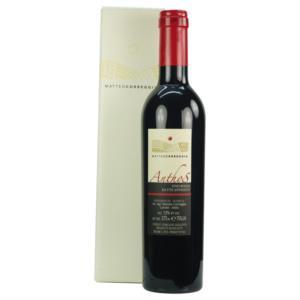 anthos-vino-rosso-da-uve-appassite-in-astuccio-di-correggia-matteo