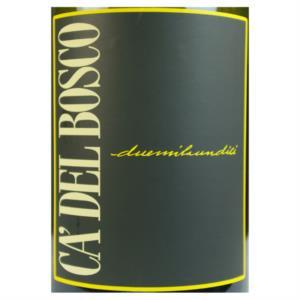 Chardonnay Ca' del Bosco Curtefranca DOC 2011_bis