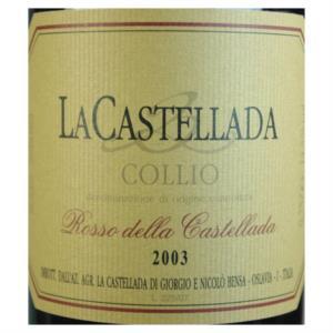 Rosso della Castellada Collio DOC 2003 La Castellada_bis